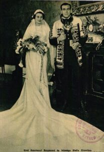 Stella Crowther és Széchenyi Zsigmond