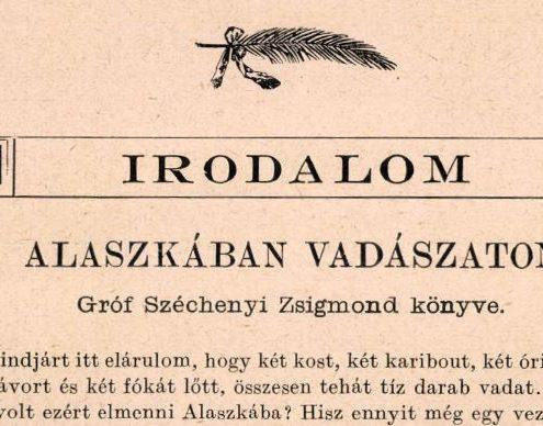 c5ad6e46ea37 Gróf Széchenyi Zsigmond emlékoldal - Híres magyar Afrika vadász